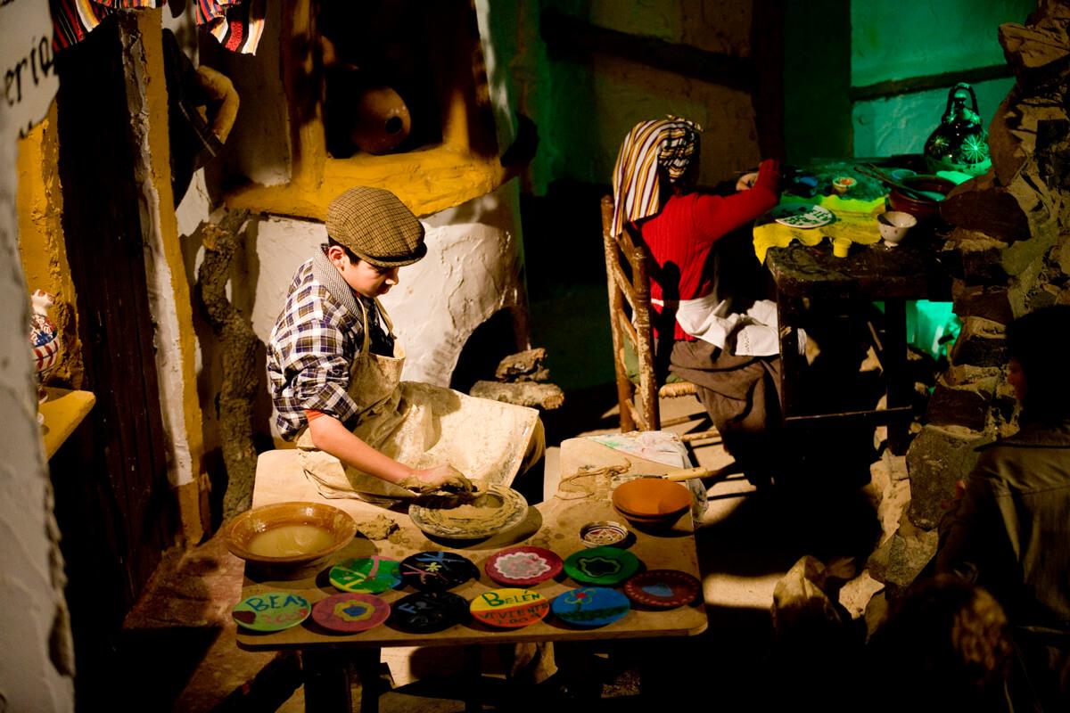Belen viviente de Beas - Alfareros