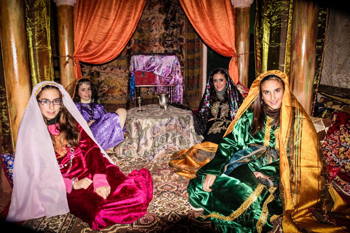 Belen viviente de Beas - Herodes en el palacio