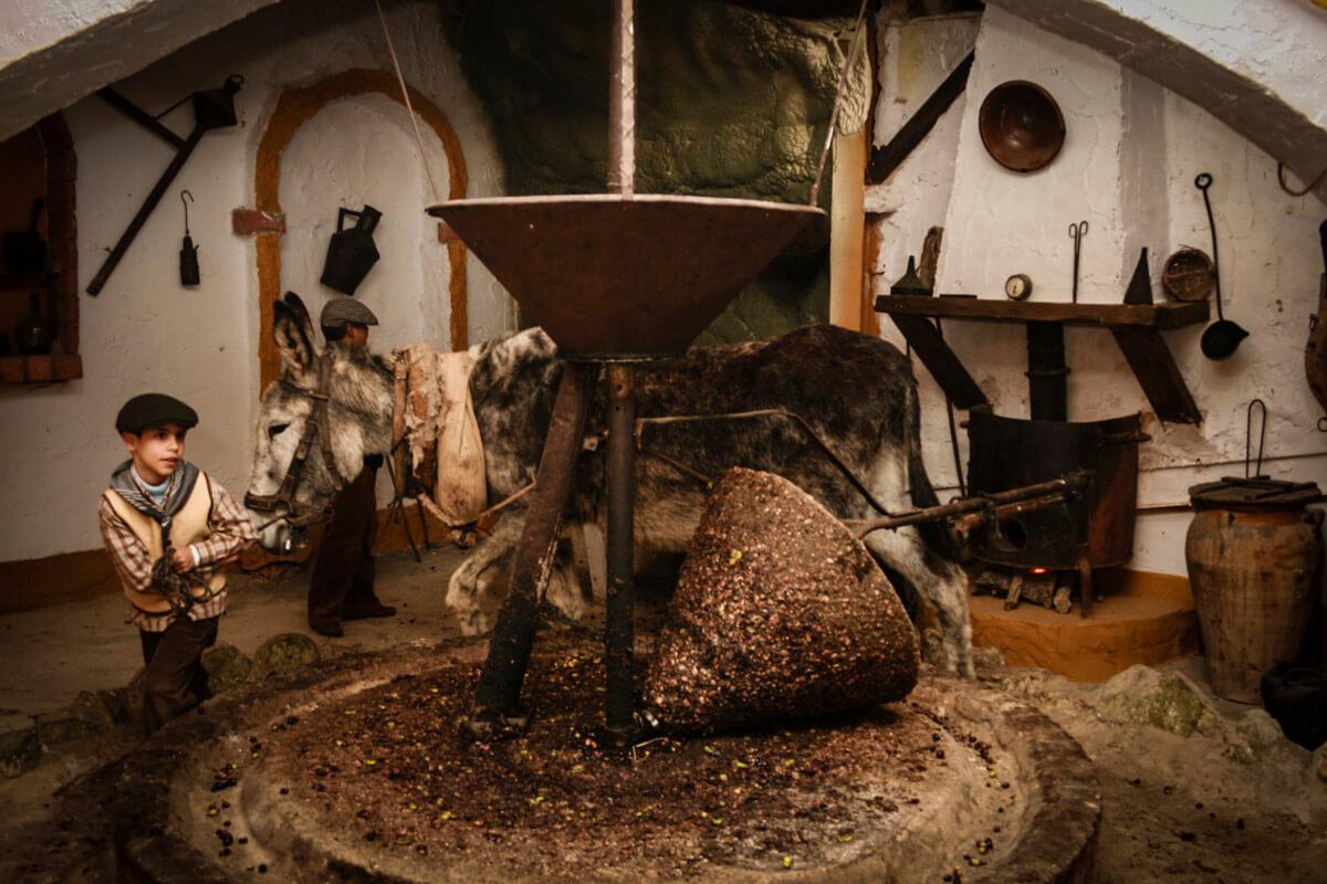 Belen viviente de Beas - molino de aceite