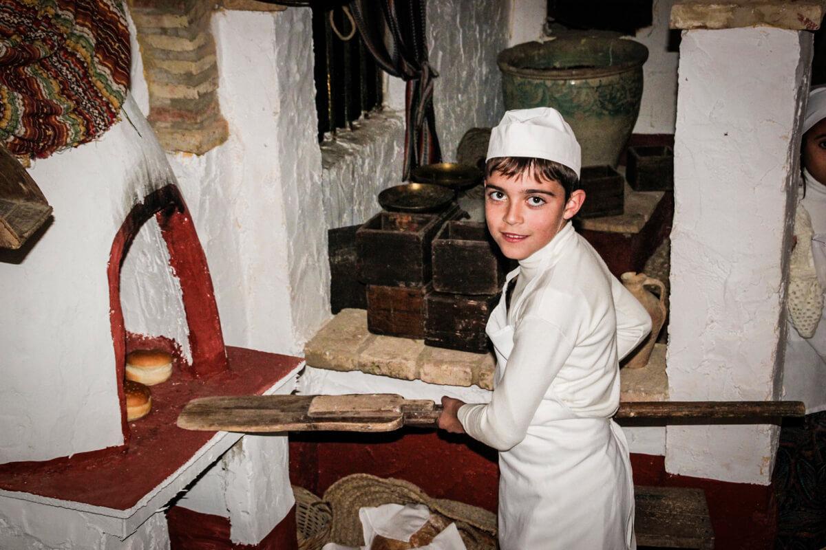 Belen viviente de Beas - panadería