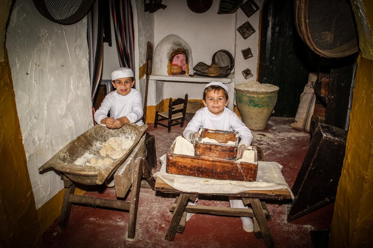 Belen viviente de Beas - panaderos