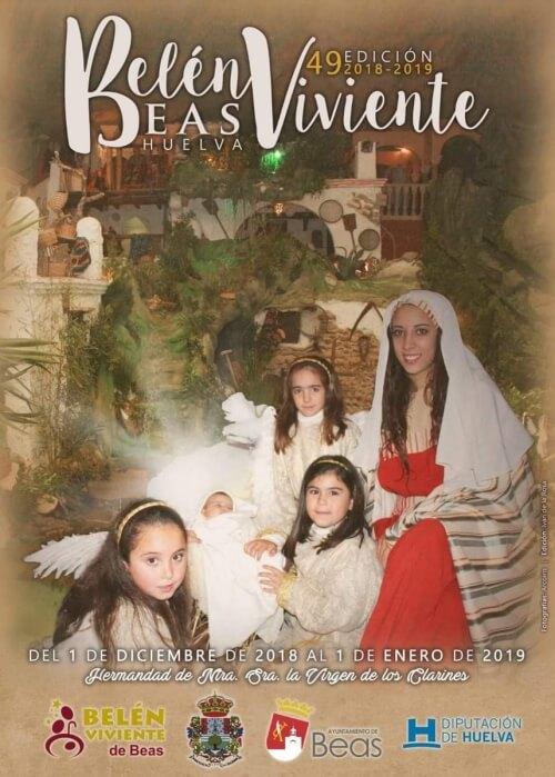 Cartel de la 49 Edición del belén Viviente de Beas