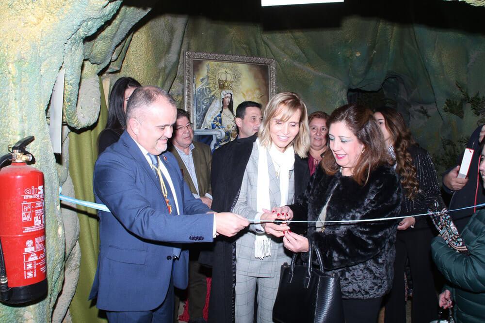 Inauguración Belén Viviente de Beas. 49 Edición
