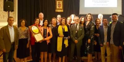 Premian al Belén Viviente de Beas con la Medalla del municipio