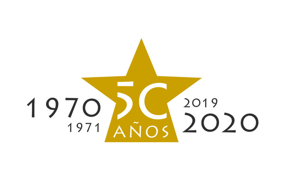 Logo 50 aniversario Belén Viviente de Beas